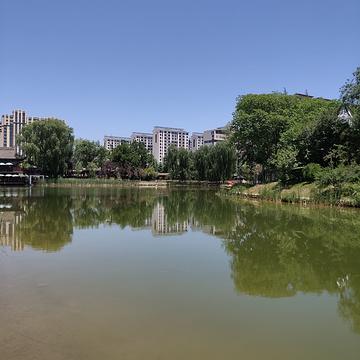 马跑泉水上公园