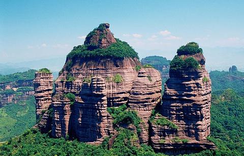 资源丹霞国家地质公园
