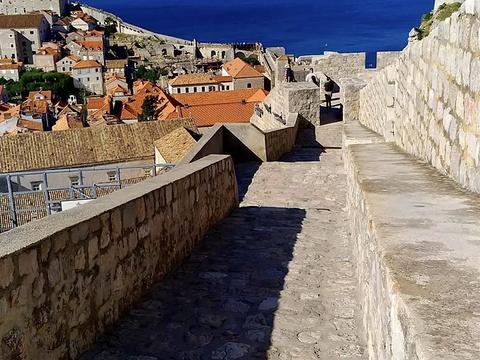 杜布罗夫尼克城墙旅游景点图片