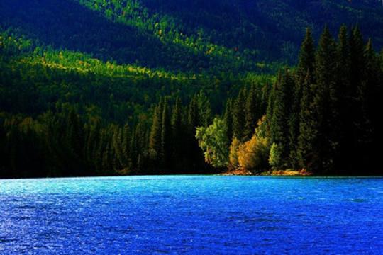 千湖旅游景点图片
