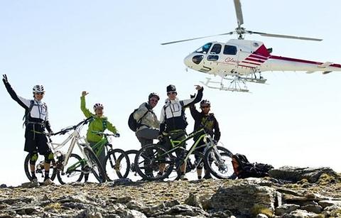 皇后镇山地自行车体验