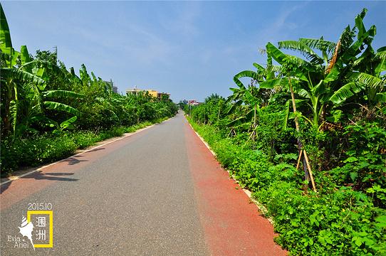 彩色公路旅游景点图片