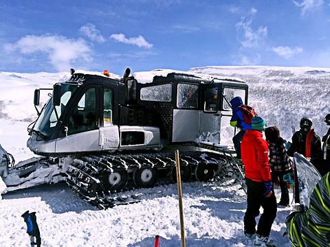 长白山天池雪自然滑雪场