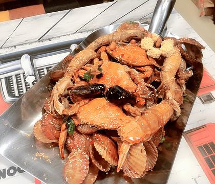 网红东北第一锹·炭火蛙锅
