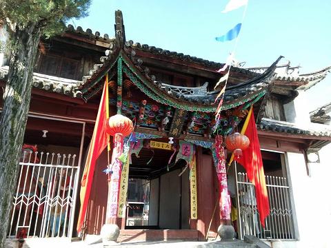 周城本主庙的图片