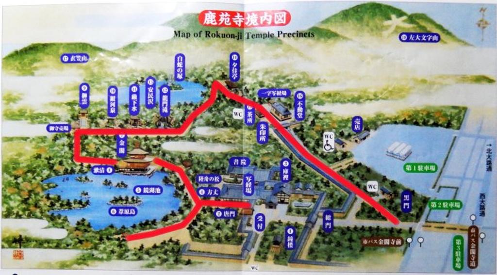 银阁寺旅游导图