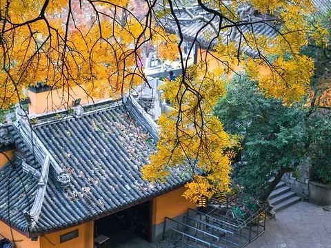 鸡鸣寺-琉璃世界旅游景点图片