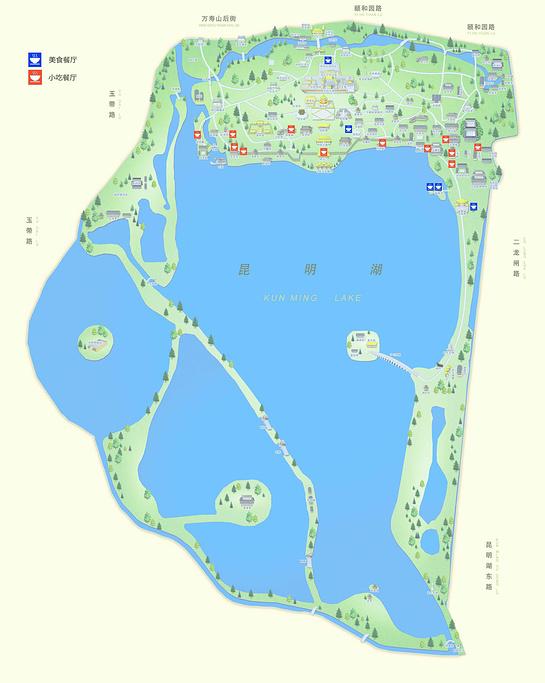 颐和园旅游导图