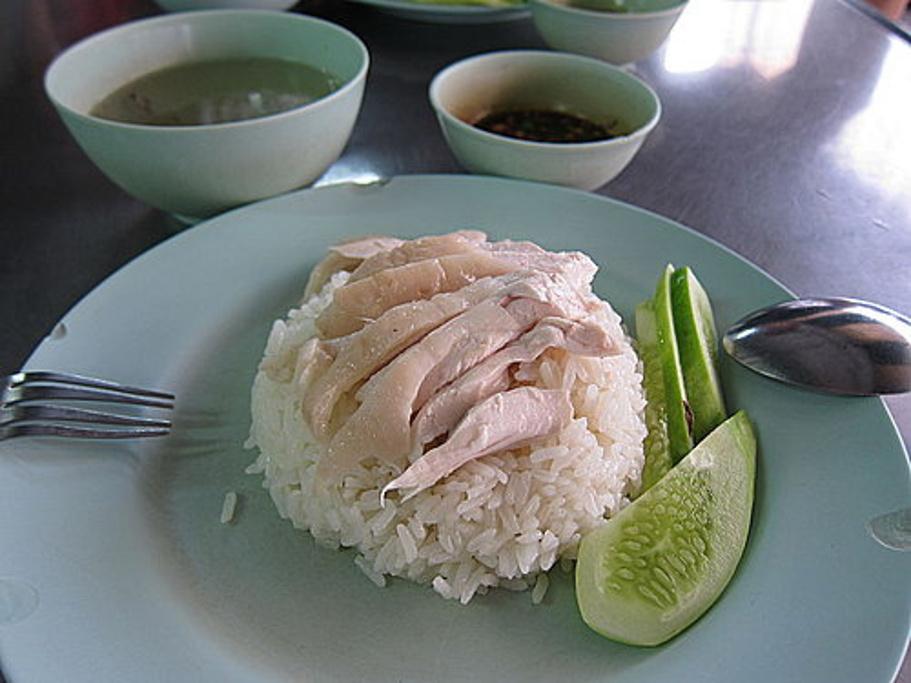 水门海南鸡饭