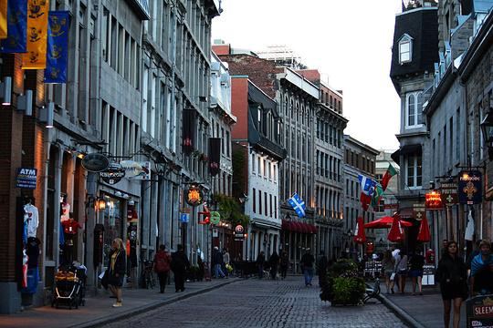 蒙特利尔老城旅游景点图片