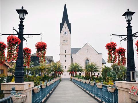 奥地利风情小镇旅游景点图片
