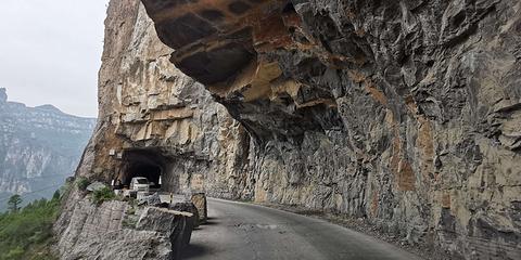挂壁公路的图片