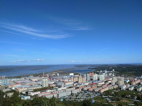 沿江公园旅游景点图片