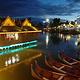 湄公河·六国水上市场