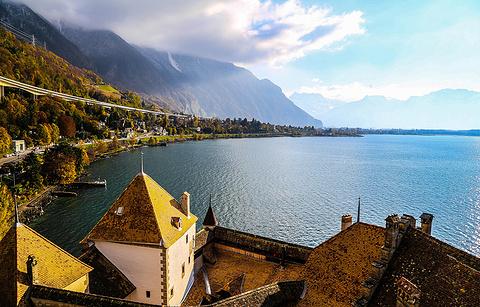 日内瓦湖的图片