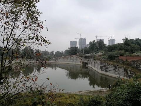 白庙子水库生态湿地公园旅游景点图片