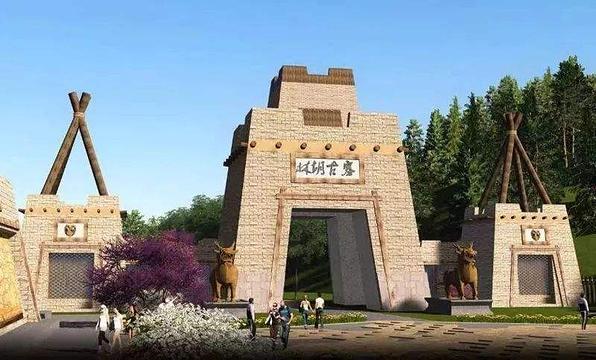 集宁林胡古寨旅游景点图片