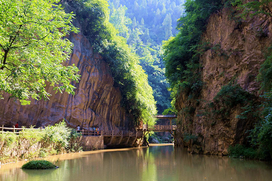 成县金莲洞风景区旅游景点图片