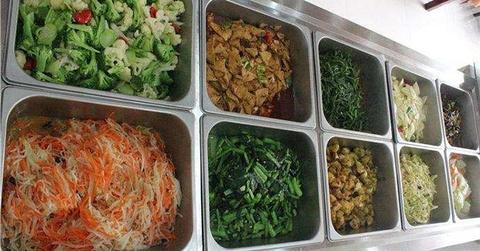 素源素食自助餐厅的图片