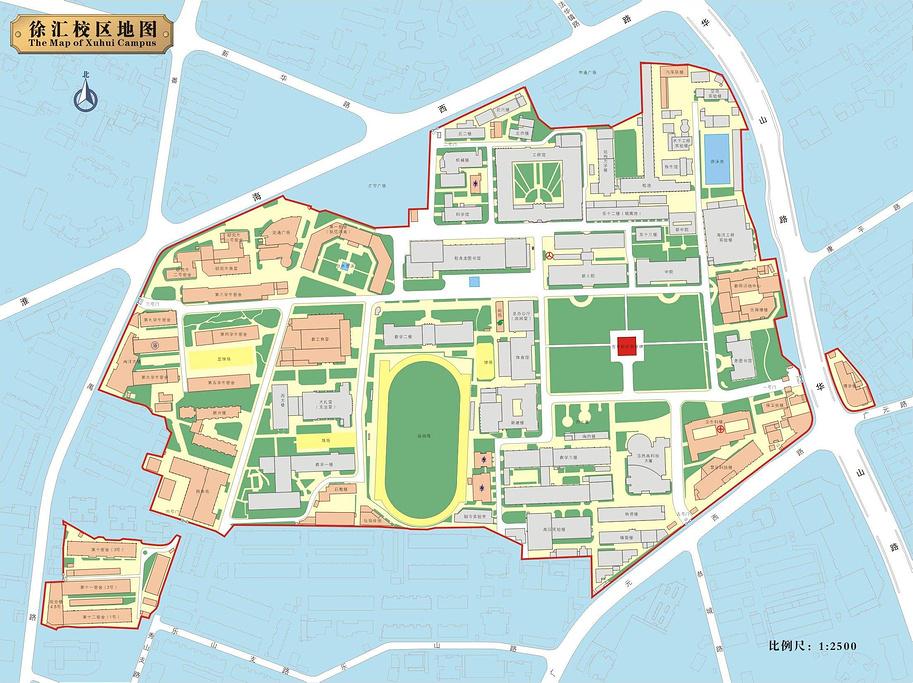 上海交通大学旅游导图