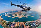 迪拜皇室直升机包机体验