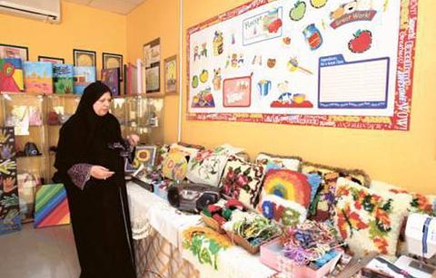 女性手工艺品中心的图片