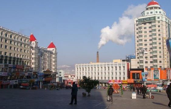 绥芬河边贸市场旅游景点图片
