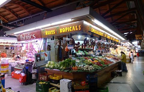 圣卡特琳娜市场的图片