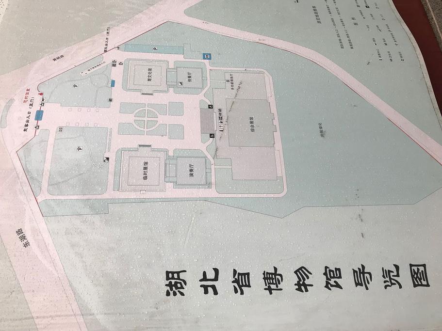 湖北省博物馆旅游导图