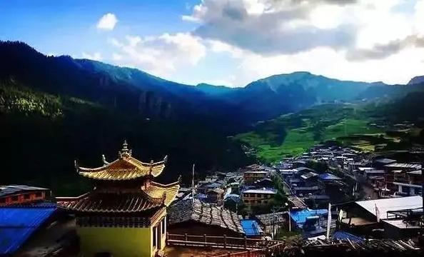 拉桑寺院旅游景点图片