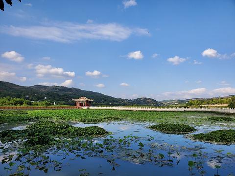 晚霞湖国家水利风景区的图片