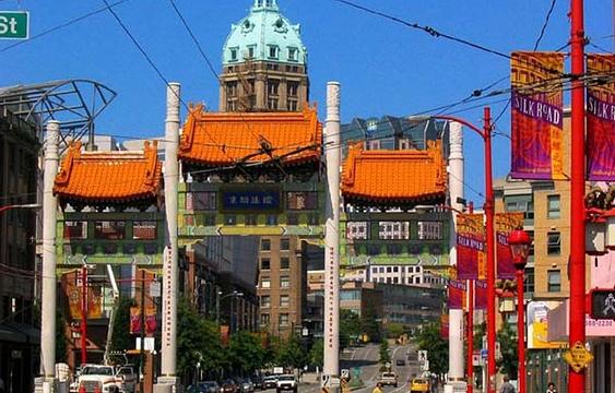 唐人街夜市旅游景点图片