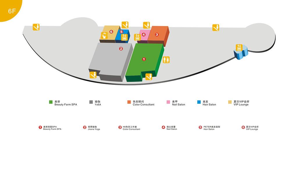 夏日百货旅游导图