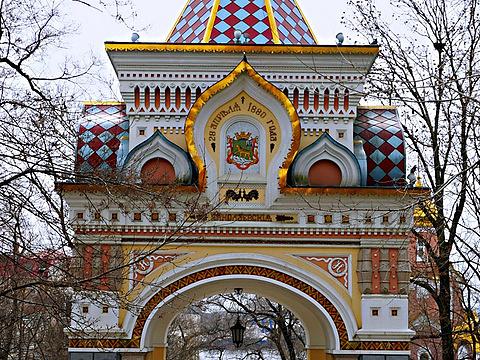 俄罗斯凯旋门