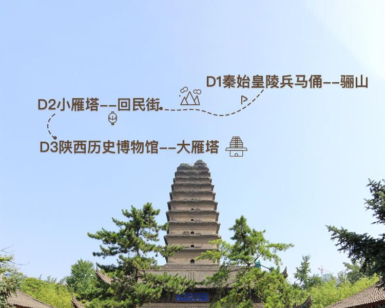 初访西安必打卡丨汉唐遗风3日游