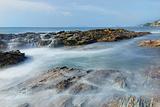 盐洲岛湾仔南海湾沙滩