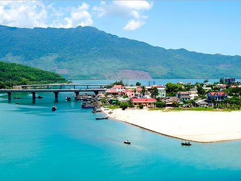 灵姑海滩旅游景点图片