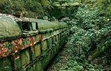 亚细亚号废弃火车车厢