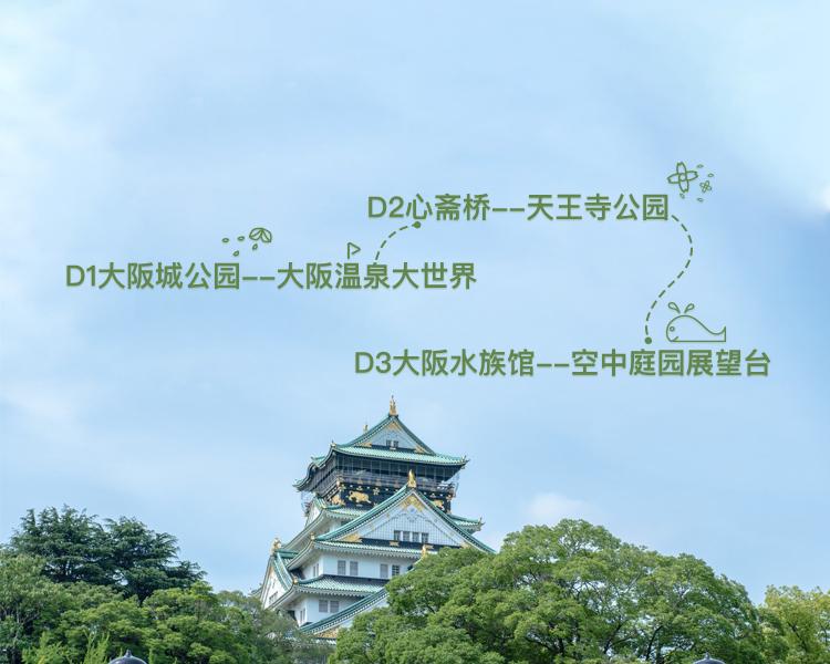 大阪尽兴游,3日逛吃玩不停