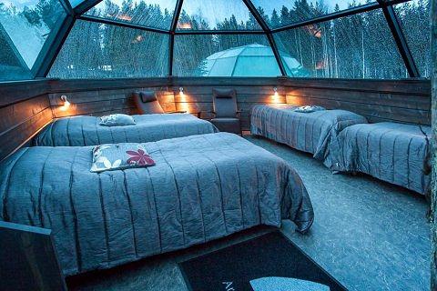 北极玻璃冰屋酒店(Arctic Glass Igloos)