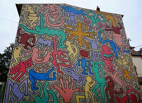 凯斯哈林壁画