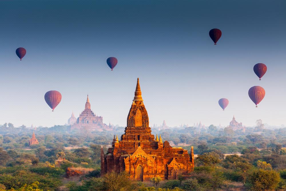 缅甸全境8日线路
