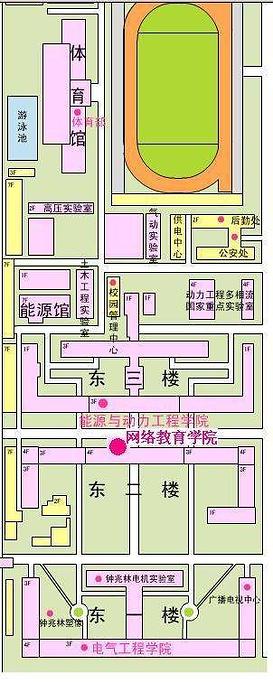 西安交通大学旅游导图