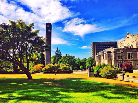 不列颠哥伦比亚大学旅游景点图片