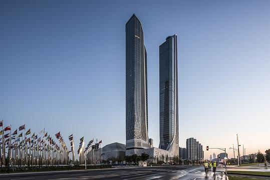 南京青奥中心旅游景点图片