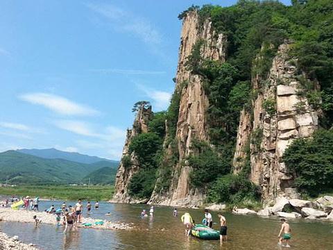 兰河峪风景区旅游景点图片
