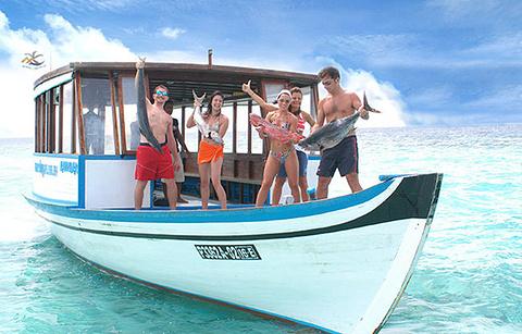 密度帕茹岛出海垂钓