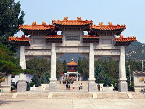 盘山烈士陵园旅游景点图片