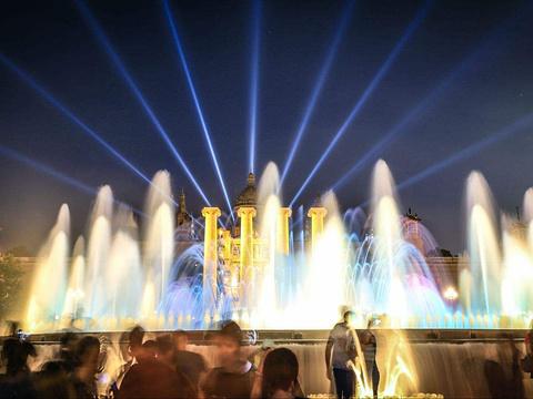 魔幻喷泉旅游景点图片