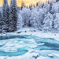 冬游新疆,邂逅浪漫旅程
